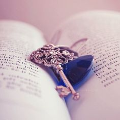 A key will open many things: They mind, heart and spirit.