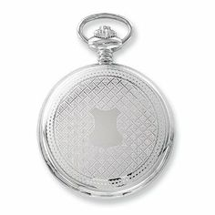 Charles Hubert Stainless Steel White Dial with Date Pocket Watch Jewelry Adviser Charles Hubert Watches. $184.93