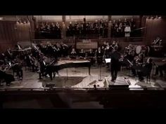 """""""Lacrimosa"""" by Balázs Havasi - Havasi is a Hungarian composer, and this is the first piece of his that I've come across. I think it sounds absolutely amazing - usually, I'm not big on 21st century Classical music, because some of the rules are bent too much for my liking. But I really enjoyed listening to this one from beginning to end - great pianist (Havasi himself), orchestra, choir, and the two male vocal soloists are great too. My fave's the first one, though - he's got a beautiful… Kinds Of Music, Music Love, My Music, Soundtrack Music, Piano Man, Anime Music, Beautiful Voice, Classical Music, Choir"""
