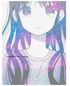 galaxy kawaii girl