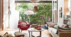 e11a24c149f97 Street House, Living Room Interior, Living Room Decor, Living Rooms, Living  Spaces