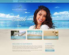 Dental Website Design Portfolio Website Design, Custom Website Design, Dental Websites, Dental Health, Cool Designs, Web Design, Grief, Design Web, Dental Care
