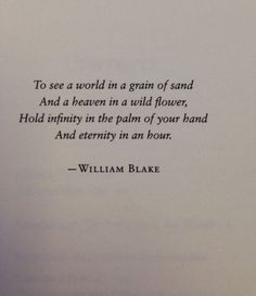 William Blake via:  Modern Girls and Old Fashioned Men.