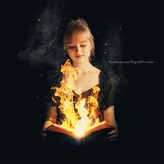 fire in hand - Google Search