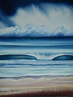 Bonnie Preziosi surf art