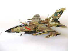 1/48 Revell Tornado IDS RSAF by Pantelis Antonoglou – HELMO Fighter Jets, Aircraft, Model, Aviation, Scale Model, Planes, Models, Airplane
