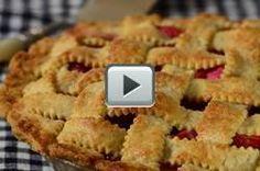 Strawberry Rhubarb Pie - Joyofbaking.com