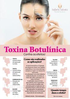 Confira os efeitos da Toxina Botulínica