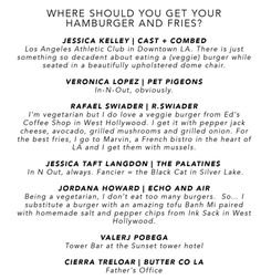 NJAL GUIDE | BEST BURGER AND FRIES SPOTS IN L.A.
