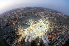 Beautiful view of city of Makkah Saudi Arabia.