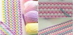 Tığ İşi Örgü Bebek Battaniyesi Yapılışı Crochet Angel Pattern, Learn To Crochet, Baby Knitting Patterns, Crochet Stitches, Diy And Crafts, Blanket, Tuna, Popcorn, Origami