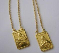 Escapulário de Ouro Masculino e Feminino 2 550x498 Preço do Escapulário de Ouro Masculino e Feminino