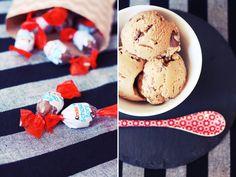 Kinderschokoladen Eis selber machen