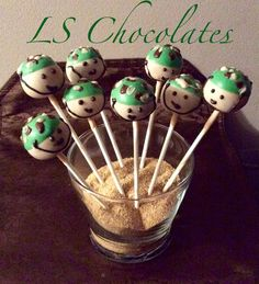 Army men soldier cake pops