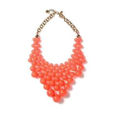 Dotz Bib Necklace Spring Accessories ❤ liked on Polyvore