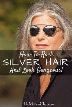 Short Silver Hair, Silver Grey Hair, Short Grey Hair, Silver Hair Styles, Curly Gray Hair, Grey Brown Hair, Long White Hair, Brown Eyes, Hair Styles For Women Over 50