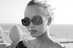 Lily Rose Depp by Greg Williams ~ disgusting fashion smoker