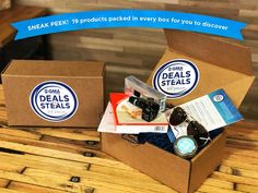 Check out the GMA Discover the Deal Box – a one time box!   GMA Deals & Steals Discover The Deal Box + Spoilers! →  http://hellosubscription.com/2017/10/gma-deals-steals-discover-deal-box-spoilers/ #DiscoverTheDeal #GMA  #subscriptionbox