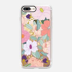 Casetify iPhone 7 Case and Other iPhone Covers - Full Floral by Paper Raven Co.   #Casetify