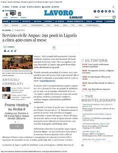 IL SECOLO WEB 15 aprile - pag. 1/2