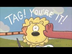 Lion and Tiger and Bear in Tag You're It book trailer