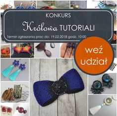 Pierwsza edycja konkursu  KRÓLOWA TUTORIALI Crochet Earrings, Stone, Jewelry, Rock, Jewlery, Jewerly, Schmuck, Stones, Jewels
