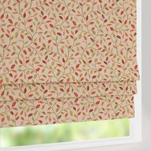 Red Balmoral Check Blackout Roman Blind Stuff To Buy