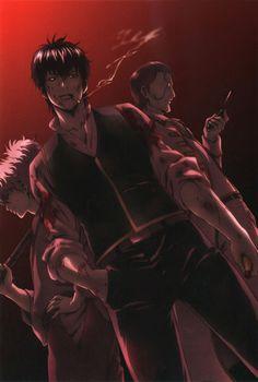 Gintama | Hijikata Toushirou | Sakata Gintoki | ♤ #anime ♤