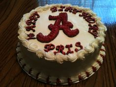 Alabama Birthday Cake Made by momma @Susie Ward