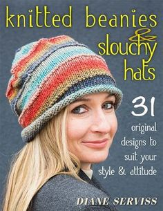 Slouchy Beanie Knitting Patterns | In the Loop Knitting