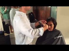 MJ Hair Designs Demonstration of Framesi Shimmer Decolor B