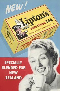 Lipton Tea (New Zealand) 1959