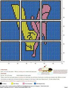 Dr. Seuss Letter V  9 Piece Puzzle