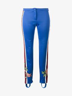 GUCCI STIRRUP FLORAL TRACK PANTS. #gucci #cloth #