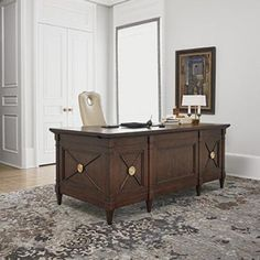 ambella home regent executive desk - Designer Executive Desks