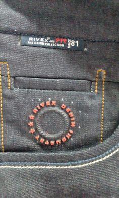 Patterned Jeans, Colored Jeans, Fashion Pants, Mens Fashion, Clothing Store Design, Boys Suits, Denim Branding, Denim Jeans Men, Vintage Denim