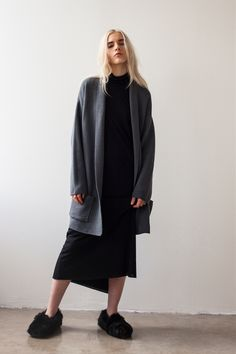 Shaina Mote Fall/Winter 2015 Strata Dress, Etienne Top, Sanna Cardigan