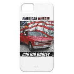 1968 C30 Regular Cab Big Dooley iPhone SE/5/5s Case