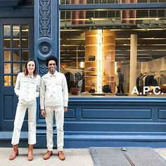 """8,079 Likes, 34 Comments - @apc_paris on Instagram: """"Staff from the #APC Mercer Street store in New York."""""""