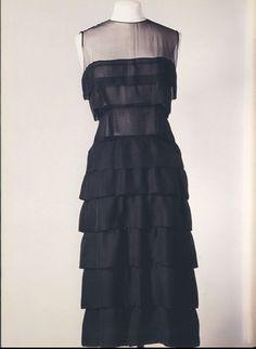 Chanel Little Black Dress 1962