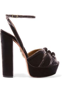 Heel measures approximately 140mm/ 5.5 inches with a 35mm/ 1.5 inches platform…