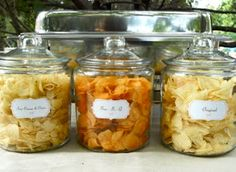 Potato chip bar