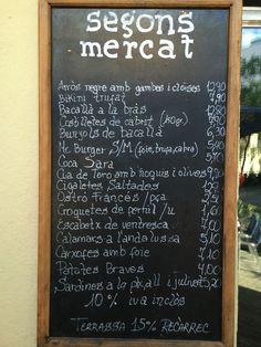 Segons Mercat Tapas, Barcelona - Restaurante Opiniones, Gran Vía, 552 Barcelona  Catalonia