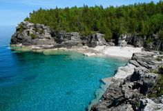 14 Ontario Provincial Parks You Must Take A Road Trip To At Least Once - all within a few hours drive from Toronto. Tobermory Ontario, Tobermory Canada, Ontario Provincial Parks, Places To Travel, Places To See, Vancouver, Chile, Ontario Travel, Ontario Camping