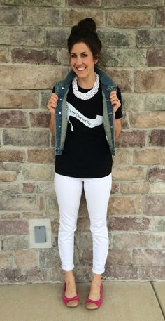 graphic tee, white p