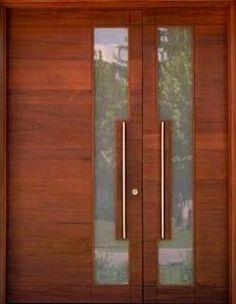 1000 images about puertas on pinterest wood doors for Puertas principales modernas de madera
