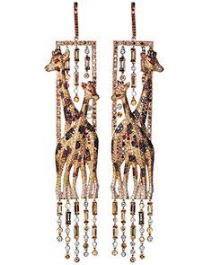chopard giraffe earrings
