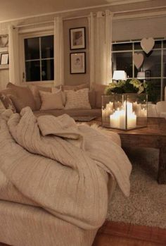 HAVE :: Lots of cozy moments in our new home with people I love.