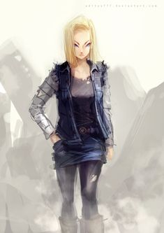 android 18 <3
