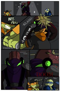 TMNT SP AU: The New Guard Dog. Pg 7 by Cartoonfanatic92.deviantart.com on @DeviantArt